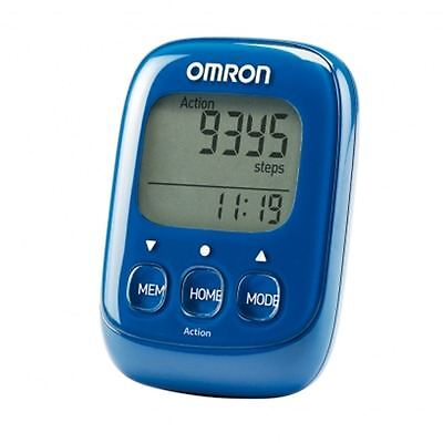 Omron HJ325-EB Walking Style IV Step Counter Blue