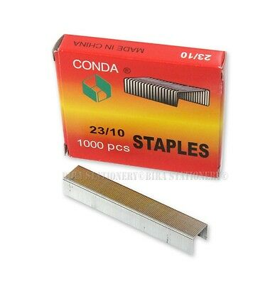 4x Standard (23/10)Good Quality Staples 1000 Count per box for Office Home 4 Box