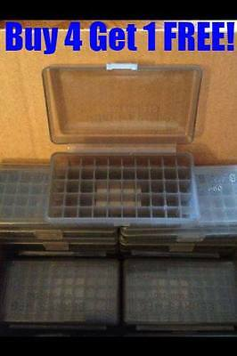 BERRY'S AMMO BOXES  45 ACP 10MM 40 S&W 50 rd 408 (1) SMOKE GREY Buy4 Get1 !