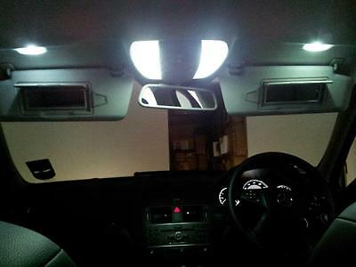 Mercedes E Class W207 Coupe Sport Xenon White LED Interior lights Bulbs Kit