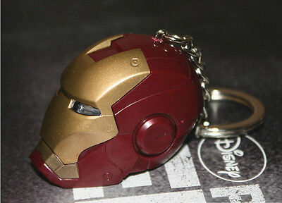 2013 new Iron Man keychain red toy keychain souvenir limited edition