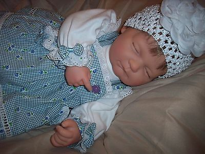 "BERENGUER LARGE 21"" SOFT BODY/JOINTED SLEEPING BABY       SO ADORABLE!"
