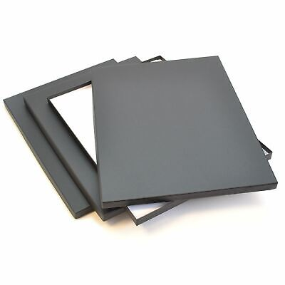 Display Print Box A3, 15mm deep, Black, 435 x 315mm for paper works -GraphicPro