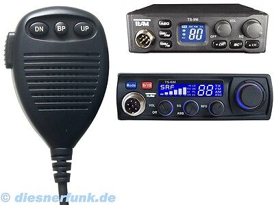 Original CB Funk Mikrofon für Team TS-6M DM-906 UP/Down MX8 TS-9M Roadcom 6pol