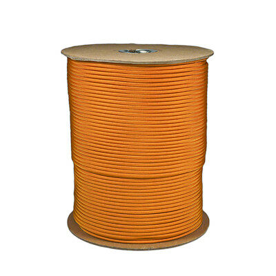 Goldenrod Paracord 1000 FT Spool 550 Parachute Cord 7 Strand Type III