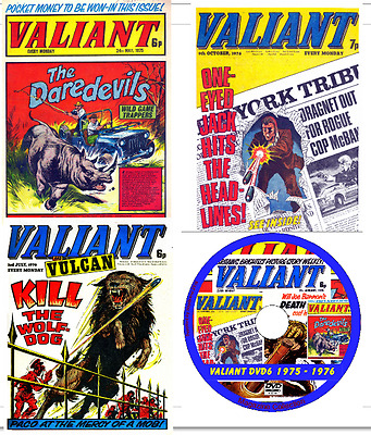 Valiant Comics 3 DVDs 345 issues & 20 specials +viewing software .cbr DVDs 4 - 6