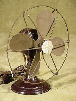 "Vintage 8"" Clipper/Pacemaker 1939 Westinghouse Electric Fan 8-LN-3 style 1044343"