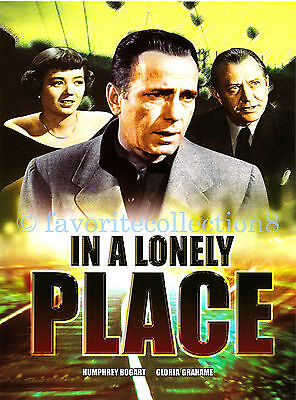 In a Lonely Place (1950) - Humphrey Bogart, Gloria Grahame - DVD NEW