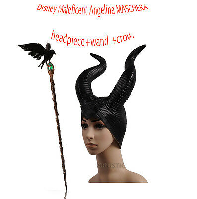 Pre-sell 2014 Disney Maleficent Angelina witch wand