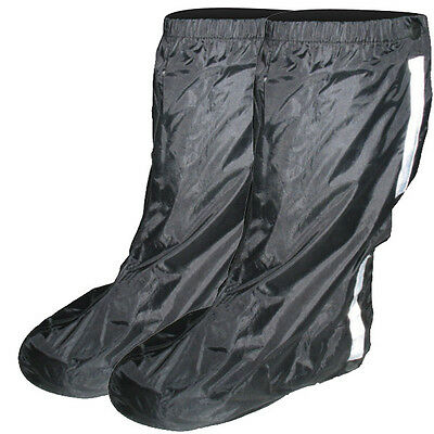 Tech-7 Waterproof Motorcycle Over Boots Overboots XLarge XL Black