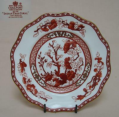 "Coalport ""Indian Tree"" (Coral) 6"" SIDE PLATE"