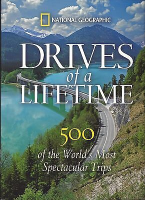 Drives of a Lifetime (National Geographic Paperback)UNUSED/ LIKE NEW *SHIPS FREE