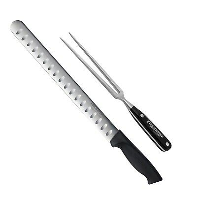 2 piece Caving Set 12 inch Prodigy Slicer carving Knife and Pro-Series fork