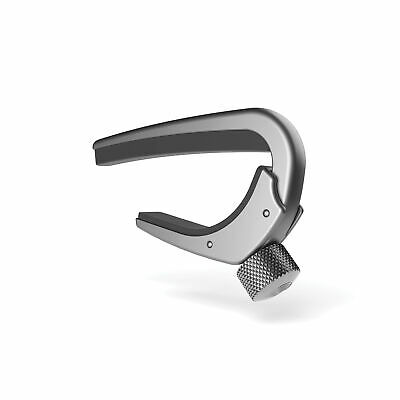 Planet Waves NS Capo Pro Silver 6/12-String Electric & Acoustic Guitars cp-02s