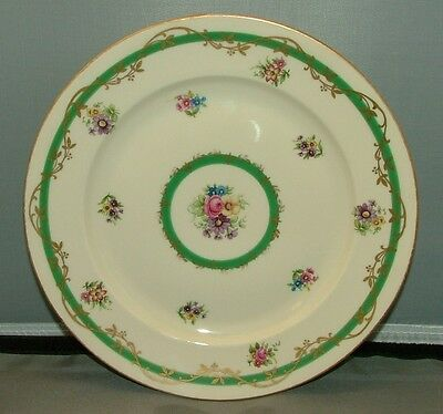 "ROYAL BAYREUTH  8-3/4"" LUNCHEON PLATE  UNKNOWN PATTERN"