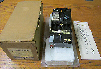 NEW NOS Square D Class 8501 Type G0-00-GE AC Relay Operated Timer On Delay