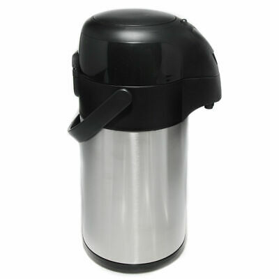 Airpot Stainless Steel Insulated Vacuum Flask Air Pump Pot Hot & Cold 2.5L/ 3.0L