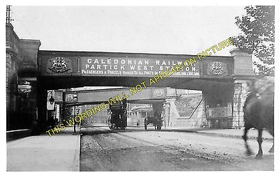 Partick West Railway Station Photo. Whitinch and Scotstoun Line. Caledonian. (2)