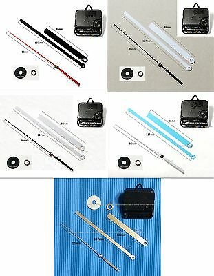 Repair Parts for Wall clock, Genuine Wellgain Movement & Hands(H2A) 5 packages