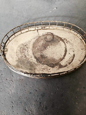 Hollywood Regency Brass Platter
