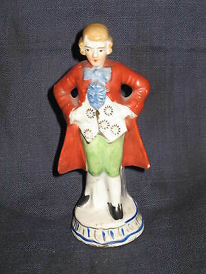 Vintage Victorian Man Figurine Made in Japan
