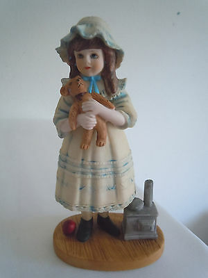 Vintage Jan Hagara Figurine Christina #5526 Limited Edition Signed  Free Ship