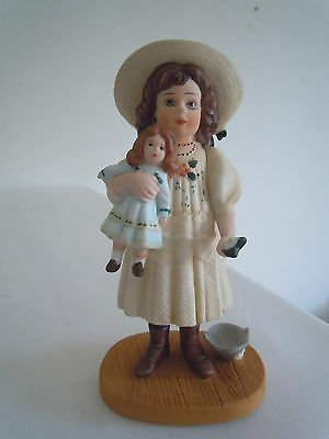 Vintage Jan Hagara Figurine Emily #4485 Limited Edition  Free Shipping