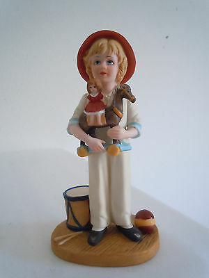 Vintage Jan Hagara Figurine Jody and the Toy Horse #8728 Free Shipping