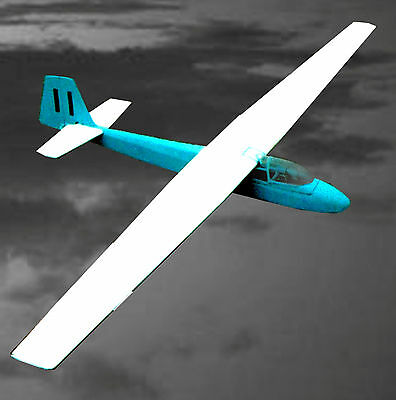 """RADIO CONTROL 66"""" SAILPLANE SLINGSBY EAGLE 3 Model Airplane Plans & Article"""