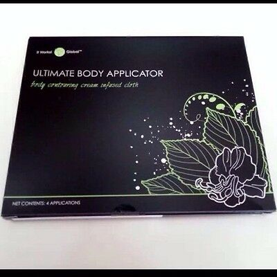 It Works! Set of 4 Ultimate Body Wrap Applicator ~ Tightening Toning Firming NEW