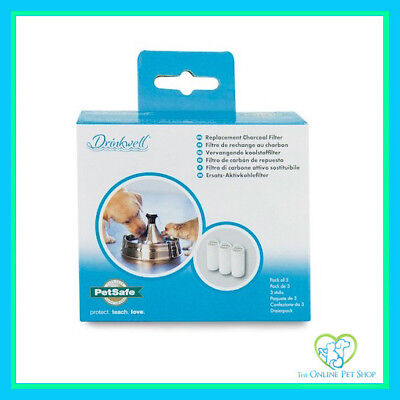 PetSafe Drinkwell 360 Replacement filters For Petsafe Dog Fountain 3 Pack
