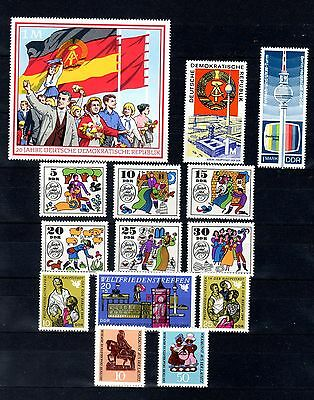 Germany/DDR/GDR - year set 1969, MNH, more complete
