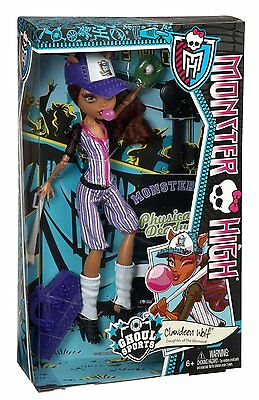 Monster High Ghoul Sports Clawdeen