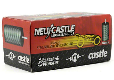 Castle Creations Neu-Castle 1512 1Y 1/8 Brushless Motor 2650k esc BRAND NEW!!!!!