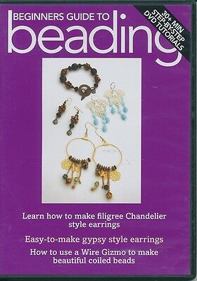 Beginners Guide To Beading: Filigree Chandelier, gypsy style earrings (DVD ONLY)