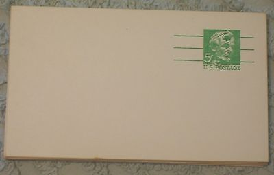 Lot of 35 5 Cent Lincoln Pre-Paid U.S. Postcards, Unused