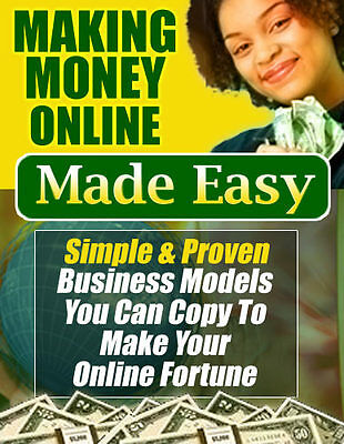 Making Money Online Made Easy - E-Book on Pdf/ CD