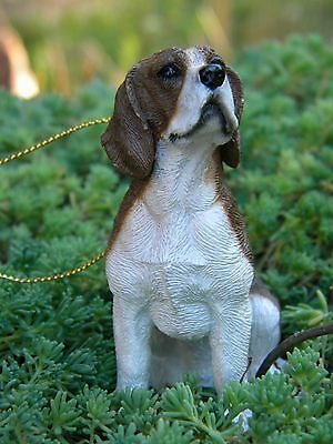 "DOG ORNAMENT, ""Beagle"" Ornament or stand alone. Great Gift! NIB"