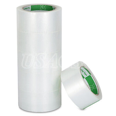 "36 Rolls 2"" x 110Yards 1.8MiL Box Tapes Clear Sealing Packing Tape 330"" ft"
