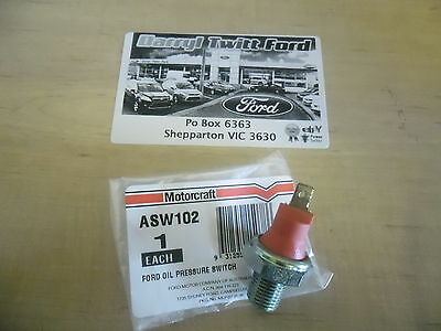 Ford Falcon Oil Pressure Switch 6 cylinder light on dash type - EF EL XH AU