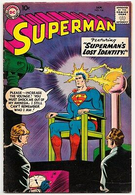 Superman #126 Wayne Boring Art & Curt Swan Cover 1959!