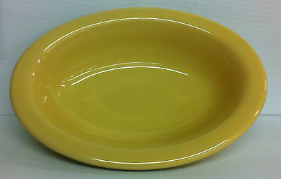 CREAMWEAR OVAL SERVING BOWL DISH From Workshop of Gerald E. Henn Pottery