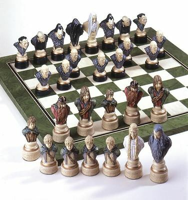 The Lord of the Rings Hand Painted Chess Pieces