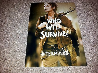 "The Walking Dead Carol Pp Signed 12""x8"" Poster Melissa Mcbride Terminus Season 5"