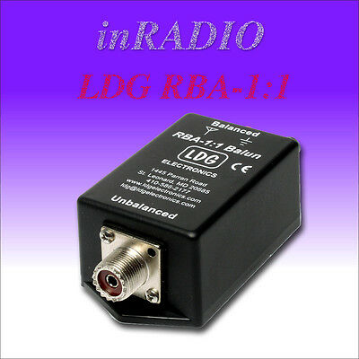 LDG RBA- 1:1 - HF 1.8 to 30MHz BALUN  -  FAST AND FREE DELIVERY