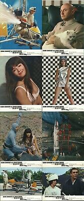 You Only Live Twice - Sean Connery / James Bond - Original French Lobby Card Set