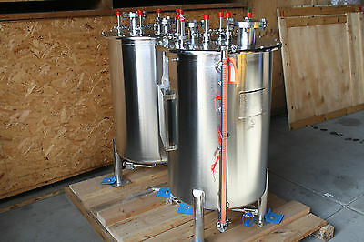 ARROW  Stainless Steel Tank 200L SS Lined FSI Listing is for one tank
