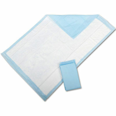 """200 Fluff Pads Adult Urinary Incontinence Disposable Bed pee Underpads 23X24"""""""