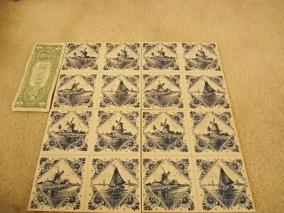 DELFT tiles, hanging (4)