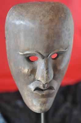 Old African Theatrical Wooden Mask... beautifully hand carved...